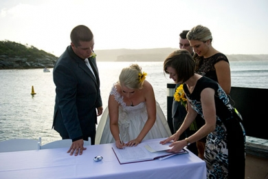 Q-Station Manly Wedding