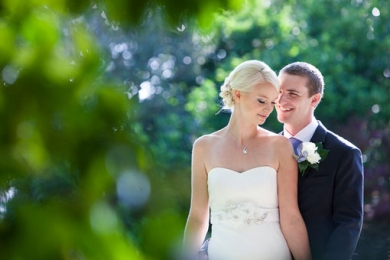Gorgeous newlyweds; Springfield House Wedding