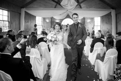Sebel Windsor Wedding; the recessional